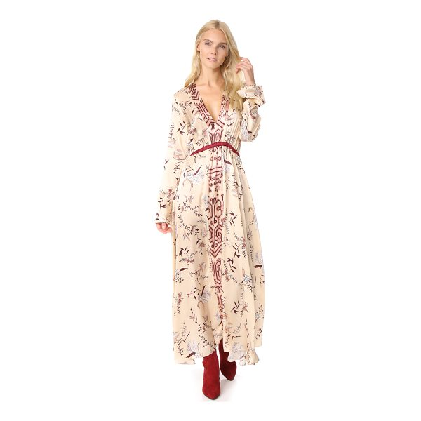 GIADA FORTE the precious garden print silk dress - A romantic Giada Forte floral dress in lustrous charmeuse....
