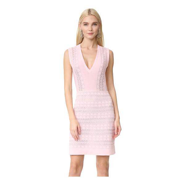 GIAMBATTISTA VALLI knit dress - Pointelle stitches and loose-knit sections bring delicate...