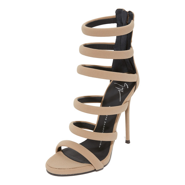 GIUSEPPE ZANOTTI strappy sandals - Luxe Giuseppe Zanotti sandals styled with delicate,...