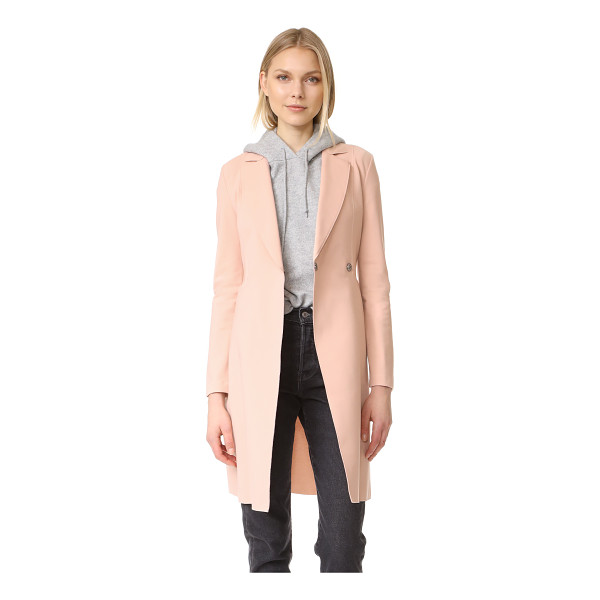 HARRIS WHARF LONDON flared coat - A sophisticated Harris Wharf London coat with a soft, yet...