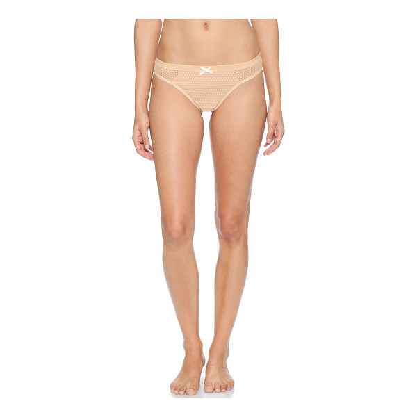 HEIDI KLUM INTIMATES Leise thong - A Heidi Klum Intimates thong made from patterned lace....