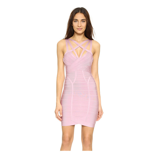 HERVE LEGER Antonia Sleeveless Dress - Exclusive to Shopbop. A curve hugging Herve Leger bandage...