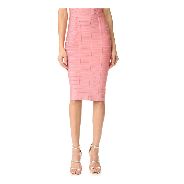 HERVE LEGER sia pencil skirt - Exclusive to Shopbop. An Herve Leger pencil skirt in a...