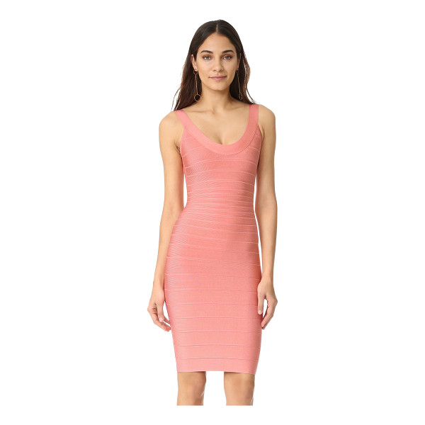 HERVE LEGER sleeveless cocktail dress - Exclusive to Shopbop. A classic Herve Leger bandage dress...