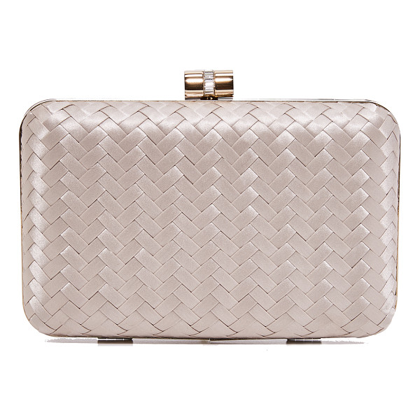 INGE CHRISTOPHER eliza clutch - This sophisticated Inge Christopher hardshell clutch is...