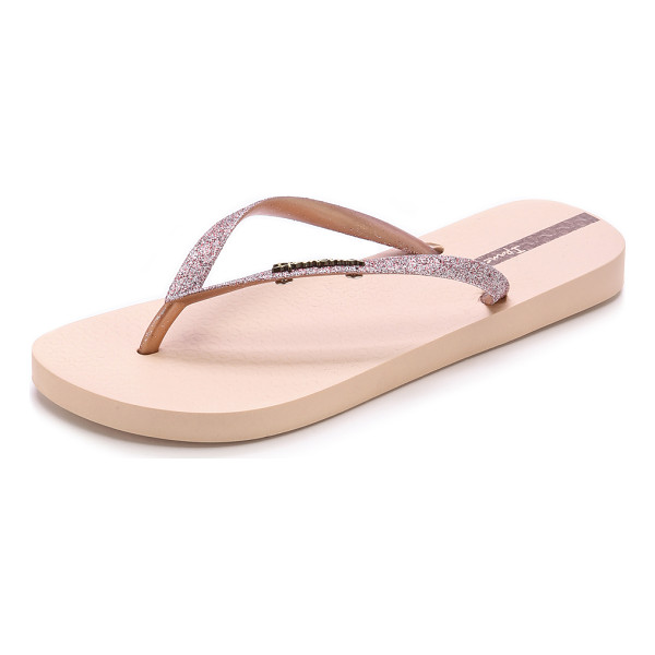 IPANEMA Glitter ii flip flops - Sparkling glitter coated straps lend a cheery touch to...