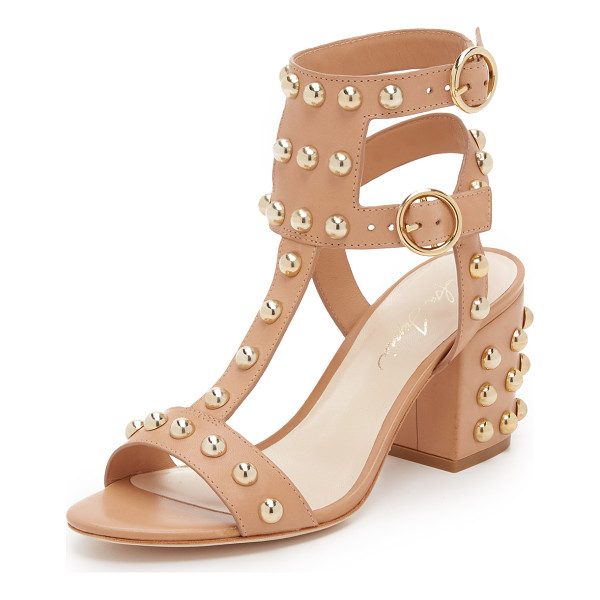 ISA TAPIA Halo studded sandals - Large studs bring bold shine to these Isa Tapia sandals....
