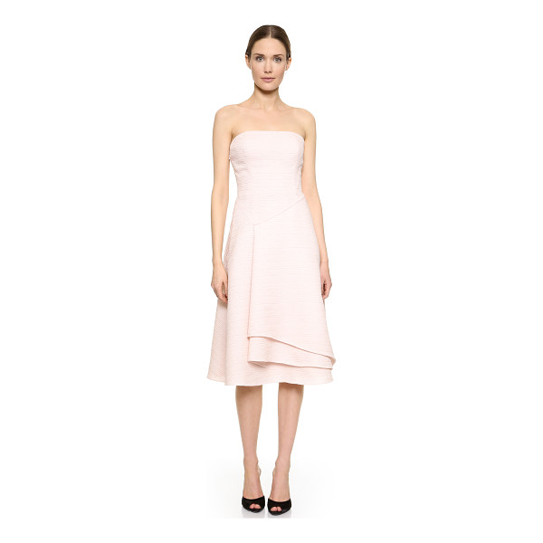 JASON WU Strapless flounce dress - A strapless Jason Wu dress cut from luxurious silk cloqué....