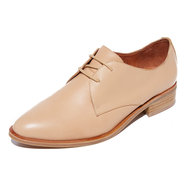 JEFFREY CAMPBELL beckham oxfords - Menswear-inspired Jeffrey Campbell oxfords in a bold,...