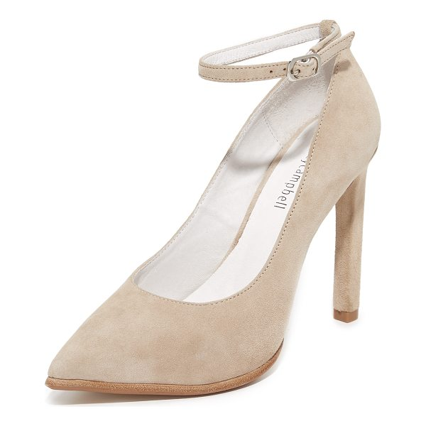 JEFFREY CAMPBELL lentine pumps - Pointed-toe Jeffrey Campbell pumps with a buckle strap at...