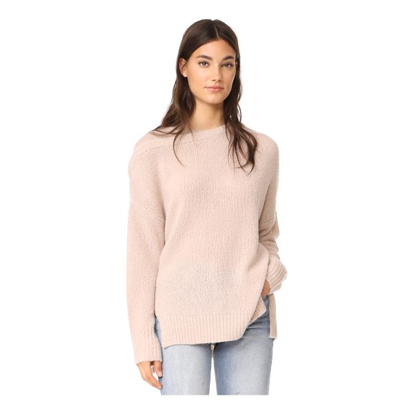 JENNY PARK dena cashmere sweater - This super-soft JENNY PARK sweater is updated with...