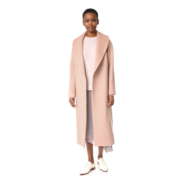JENNY PARK Vera wool coat - A sophisticated JENNY PARK coat in a plush wool cashmere...