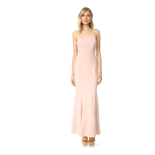 JILL JILL STUART strapless dress - Curved seams create a tailored profile on this strapless...