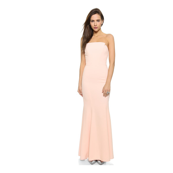 JILL JILL STUART Strapless long dress - This elegant Jill Jill Stuart maxi dress has soft boning...