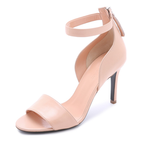 JILL STUART Faye sandals - A curved section complements the elegant look of these Jill...