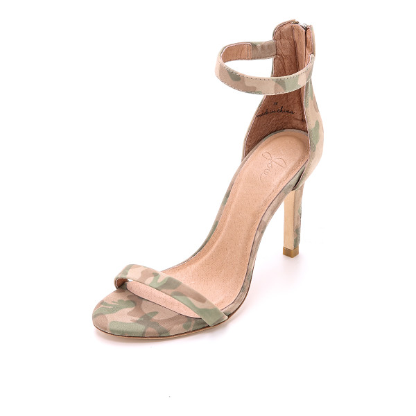 JOIE Abbot sandals - Simple Joie sandals gain a modern feel from camouflage