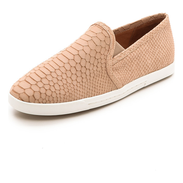 JOIE Kidmore slip on sneakers - A slim silhouette lends a refined feel to snake embossed...
