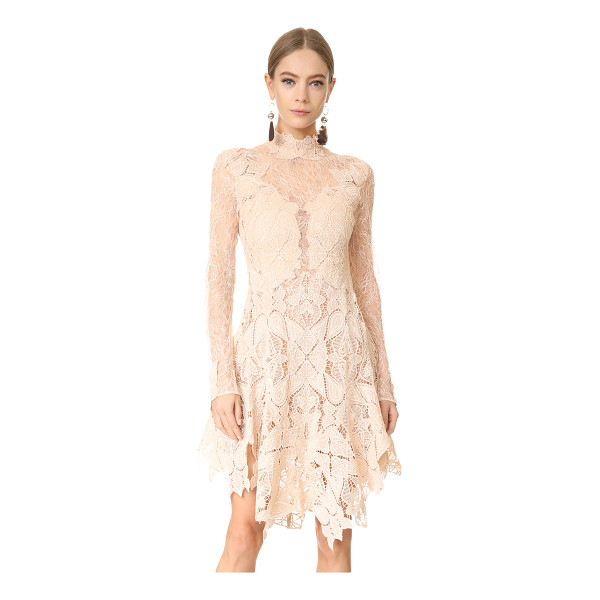 JONATHAN SIMKHAI multimedia corded lace dress - A delicate lace Jonathan Simkhai dress with intricate...
