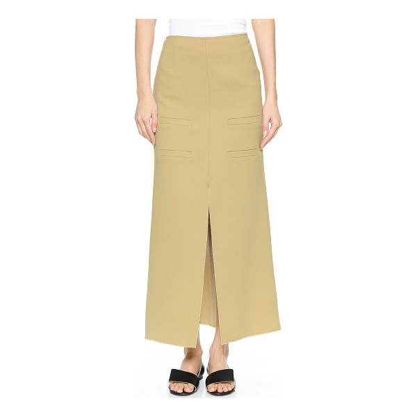J.W.ANDERSON Long slit front skirt - Description NOTE: Sizes listed are UK. Please see Size &...