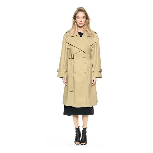 J.W.ANDERSON Wrap front trench coat - Description NOTE: Sizes listed are UK. Please see Size &...