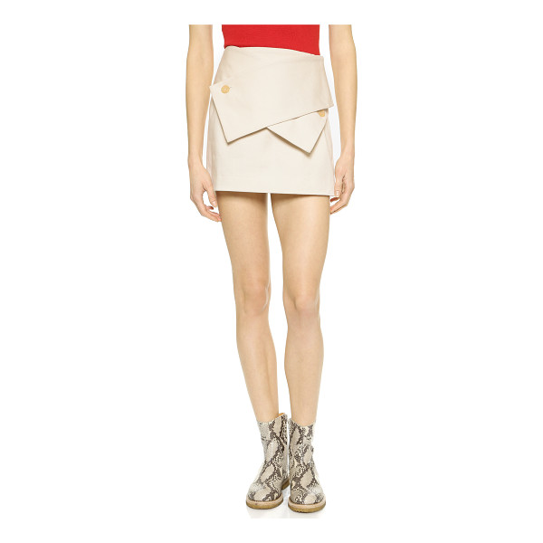 J.W.ANDERSON Wrap miniskirt - Description NOTE: Sizes listed are UK. Please see Size &...