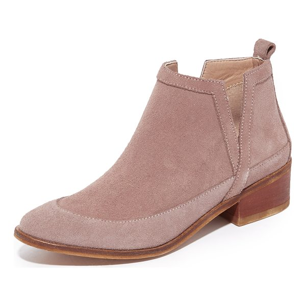 KAANAS mexicali booties - Exclusive to Shopbop. Sculpted panels of brushed suede lend...