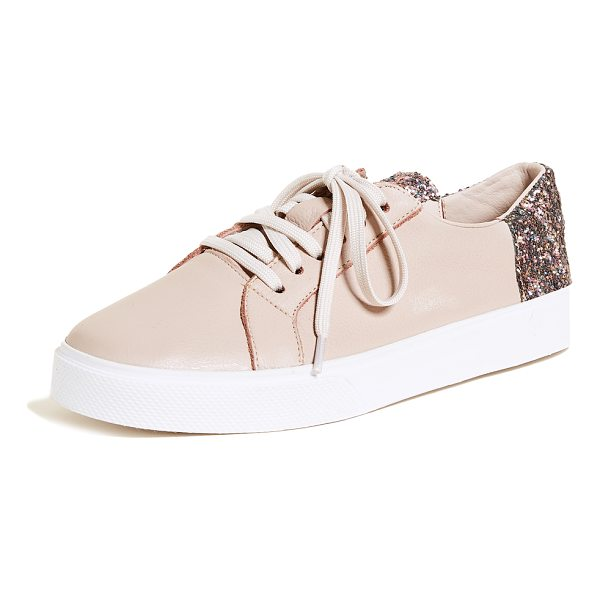 KAANAS san rafael sneakers - Monochrome KAANAS sneakers in pebbled leather, accented...