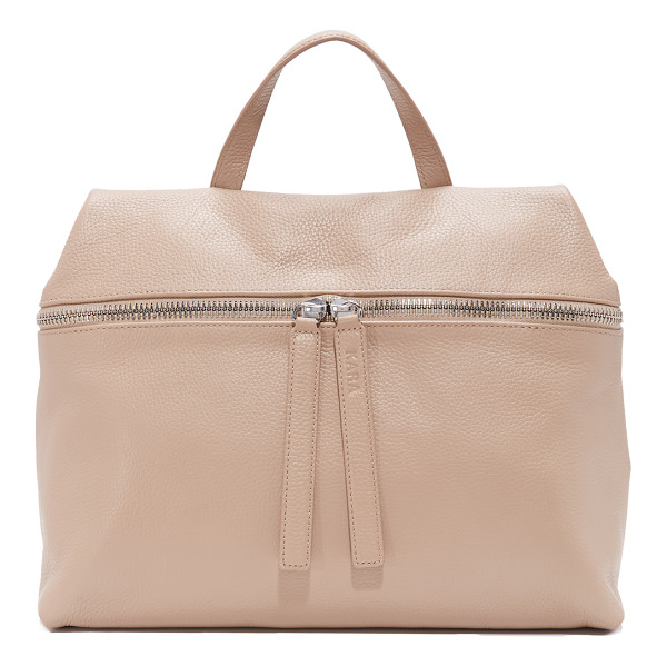 KARA satchel - This minimalist KARA satchel is cut from sophisticated