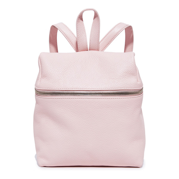 KARA small backpack - This scaled-down KARA backpack is crafted in pebbled...