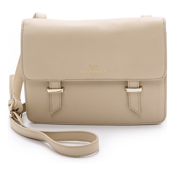 KAREN WALKER Benah for  sloane satchel - A sleek Benah for Karen Walker satchel rendered in smooth