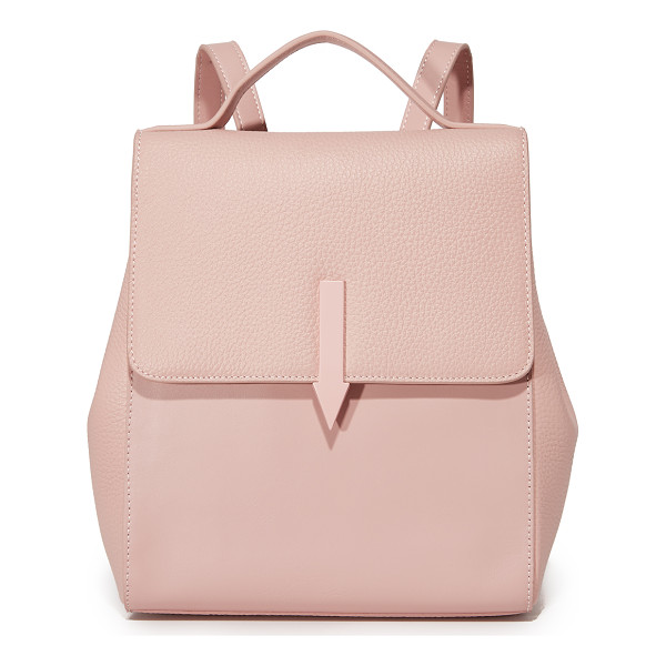 KAREN WALKER mini backpack - A sophisticated Karen Walker backpack in a mix of smooth