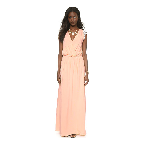 KAREN ZAMBOS VINTAGE COUTURE Molly maxi dress - A soft Karen Zambos Vintage Couture maxi dress has...