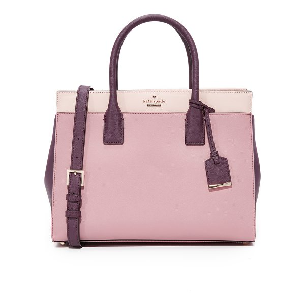 KATE SPADE NEW YORK cameron street candace satchel - A structured Kate Spade New York tote in colorblock,...