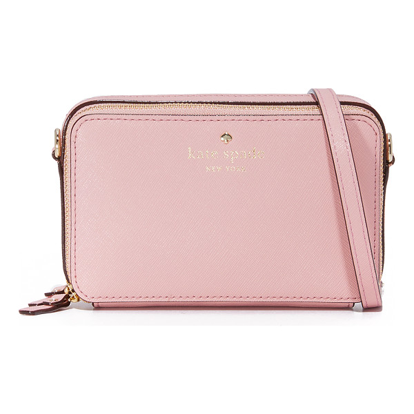 KATE SPADE NEW YORK Kate Spade New York Carine Cross Body Bag - A petite Kate Spade New York cross body bag in saffiano