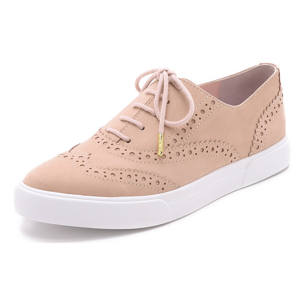 KATE SPADE NEW YORK Catlyn sneakers - These nubuck Kate Spade New York shoes blend oxford and