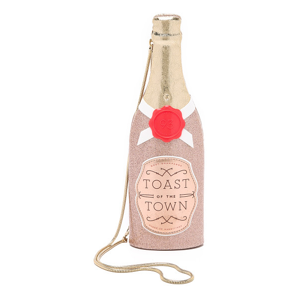 KATE SPADE NEW YORK Champagne bottle clutch - This champagne bottle inspired Kate Spade New York clutch