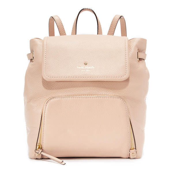 KATE SPADE NEW YORK Charley backpack - A sophisticated Kate Spade New York backpack in pebbled