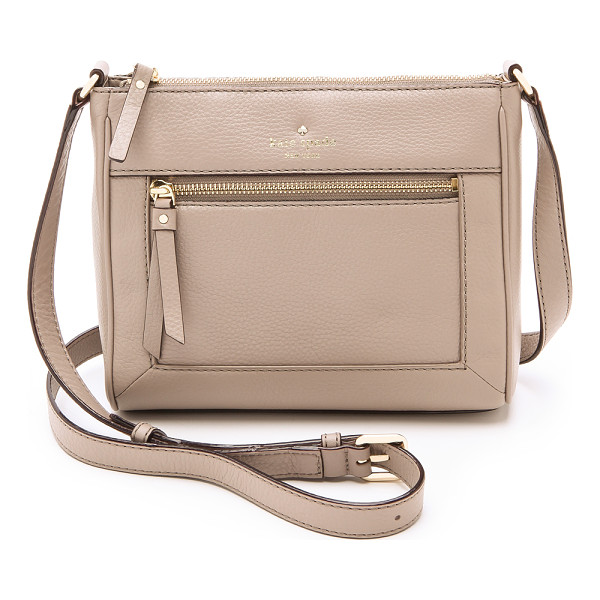 KATE SPADE NEW YORK Cobble hill deni bag - Soft leather composes a timeless Kate Spade New York