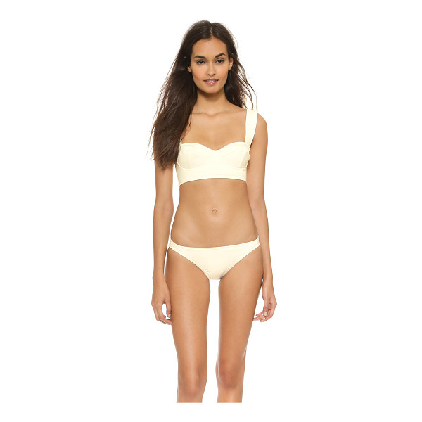 KATE SPADE NEW YORK Georgica beach bikini top - Wide straps trace the shoulders of a sculpted Kate Spade...