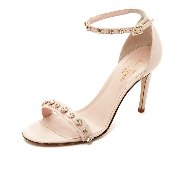 KATE SPADE NEW YORK Ivy sandals - Smooth leather Kate Spade New York sandals, accented with...