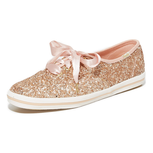 KATE SPADE NEW YORK keds for  glitter sneakers - A collaboration between Keds and Kate Spade New York, these