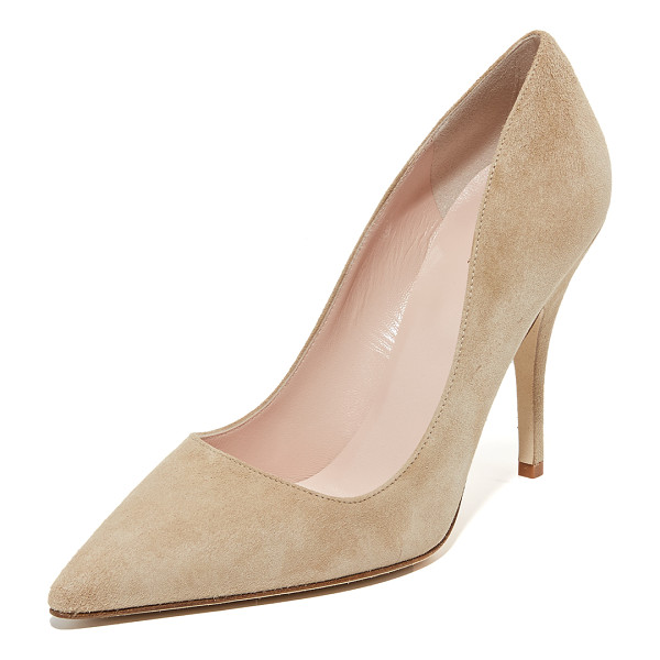 KATE SPADE NEW YORK Licorice pumps - Versatile, ladylike Kate Spade New York pumps made from...