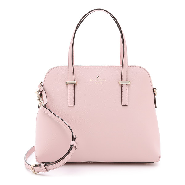 KATE SPADE NEW YORK Maise dome satchel - A sophisticated Kate Spade New York handbag in saffiano