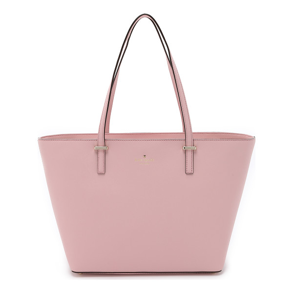 KATE SPADE NEW YORK Small harmony tote - A structured Kate Spade New York handbag in sturdy saffiano