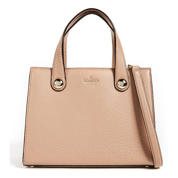KATE SPADE NEW YORK stewart street little joy bag - A structured Kate Spade New York satchel crafted in pebbled...