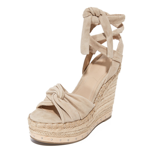 KENDALL + KYLIE grayce wedges - These KENDALL + KYLIE sandals are detailed with twisted