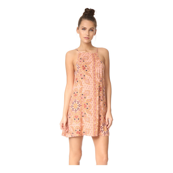 KNOT SISTERS meg dress - This lightweight Knot Sisters mini dress is embellished...