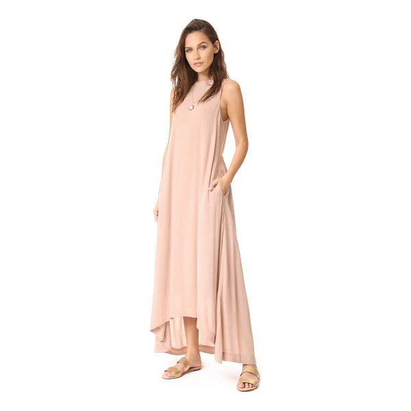 KNOT SISTERS park ave dress - This figure-skimming Knot Sisters maxi dress is cut with a...