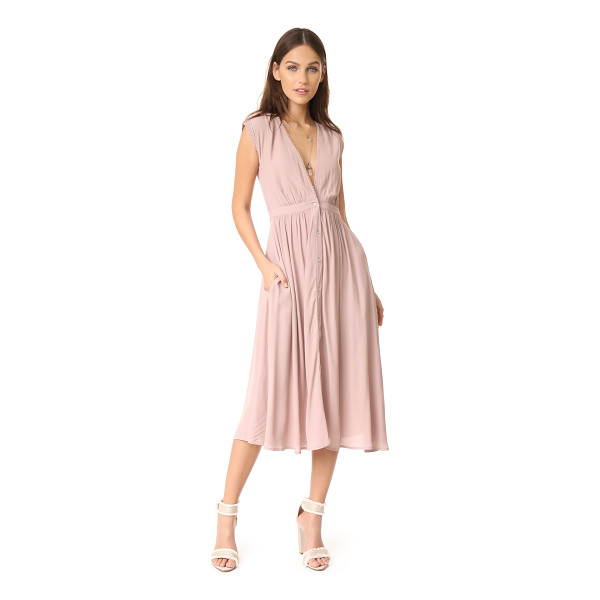 KNOT SISTERS secret garden dress - This versatile Knot Sisters midi dress has a casual, yet...