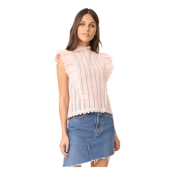 LA VIE BY REBECCA TAYLOR celsie eyelet top - A delicate, feminine La Vie Rebecca Taylor blouse with...